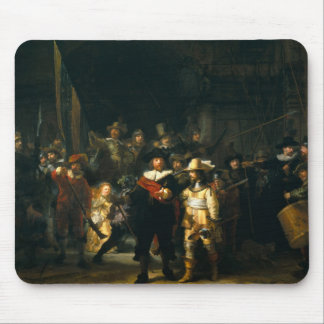 The Night Watch - Rembrandt Mouse Pad
