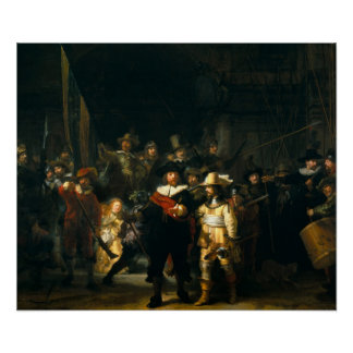 The Night Watch - Rembrandt Poster