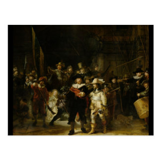 The Night Watch, Rembrandt van Rijn Postcard
