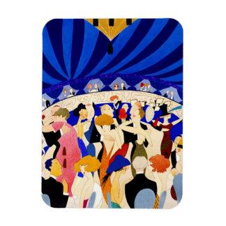 The Nightclub 1921 Rectangular Photo Magnet