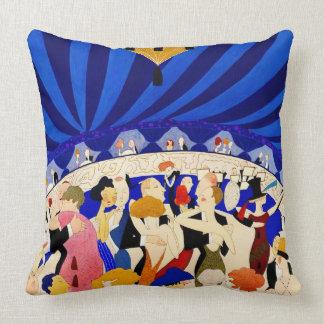 The Nightclub 1921 Throw Cushions
