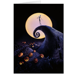 The Nightmare Before Christmas Card