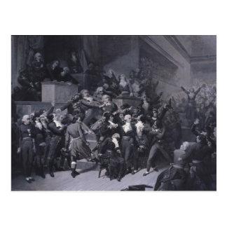 The Ninth Thermidor, c.1840 Postcard