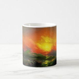The Ninth Wave by Ivan Aivazovsky Coffee Mug