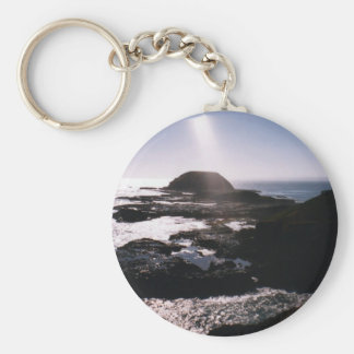 The Nobbies Basic Round Button Key Ring