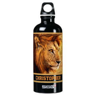 The Noble Lion Photograph SIGG Traveller 0.6L Water Bottle
