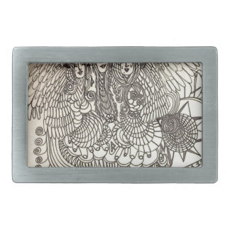 The Norns Rectangular Belt Buckles