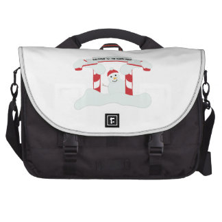 The North Pole Laptop Bags