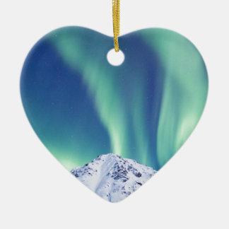 The Northern Lights Ceramic Ornament