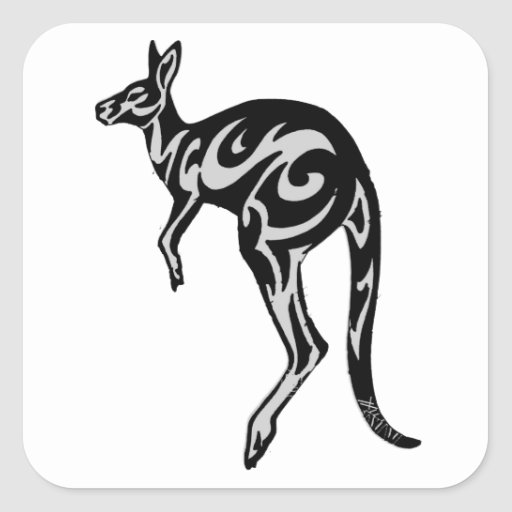 THE NORTHERN TERRITORY SQUARE STICKER