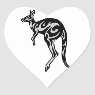 THE NORTHERN TERRITORY HEART STICKER