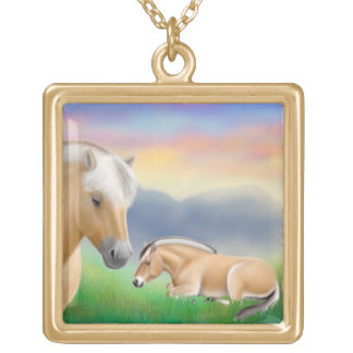 The Norwegian Fjord Horse Necklace