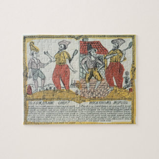 The Nose and the Frost, Russian, late 18th century Puzzles