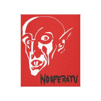 The Nosferatu Vampire Canvas Print
