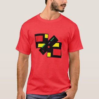 the NOT square T-Shirt by DAL