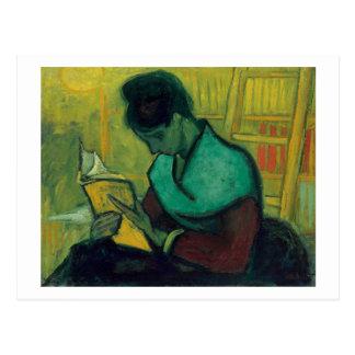 The Novel Reader, Vincent van Gogh Postcard