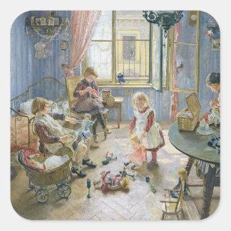 The Nursery, 1889 Square Sticker
