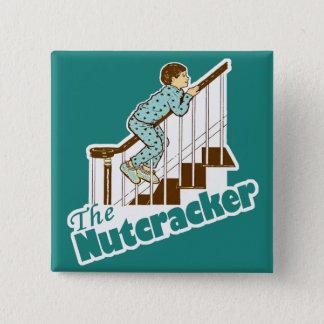 The Nutcracker Christmas 15 Cm Square Badge