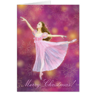The Nutcracker Clara Holiday Greeting Card