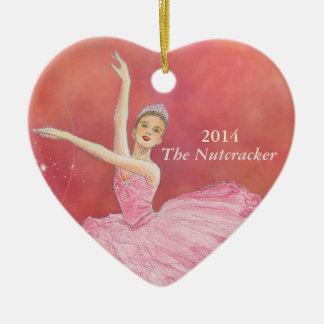 The Nutcracker Commemorative Heart Ornament