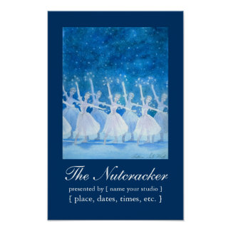 The Nutcracker Poster (customizable)