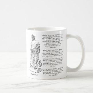 The Oath of Asclepius (Hippocrates) Coffee Mug