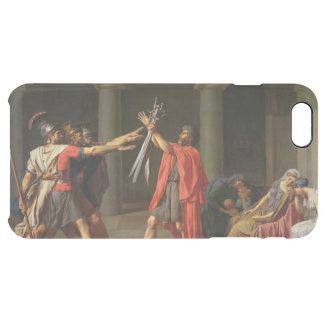 The Oath of Horatii, 1784 Clear iPhone 6 Plus Case
