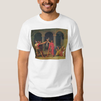 The Oath of the Horatii Tshirts