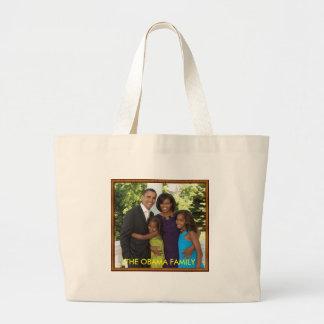 THE OBAMA FAMILY - Customized Bag