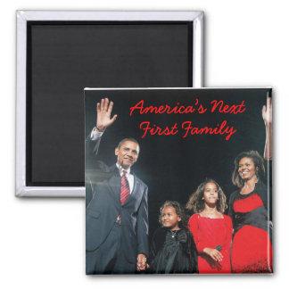 The Obamas: America's Next 1st Family Magnet