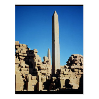 The Obelisks of Tuthmosis I  and Hatshepsut Postcard