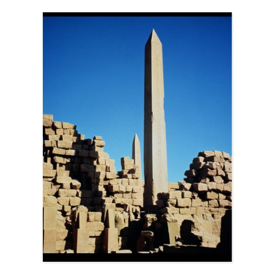 The Obelisks of Tuthmosis I  and Hatshepsut Postcard
