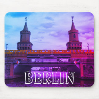 The Oberbaum Bridge 002.02.F, BERLIN Mouse Pad