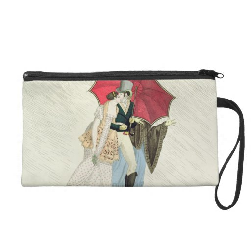 The Obliging Umbrella, plate 40 from 'Le Bon Genre Wristlet