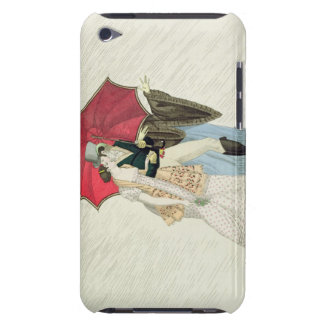 The Obliging Umbrella, plate 40 from 'Le Bon Genre iPod Touch Covers