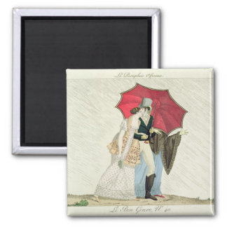 The Obliging Umbrella, plate 40 from 'Le Bon Genre Magnet