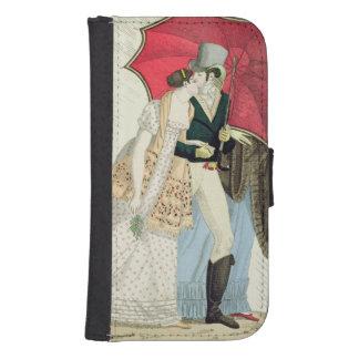 The Obliging Umbrella, plate 40 from 'Le Bon Genre Galaxy S4 Wallet Case