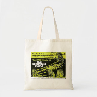 The Oblong Box, vintage horror movie poster Tote Bag