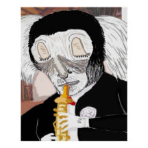 The Oboe Player Posters