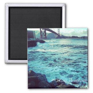 The Ocean and The Bridge Square Magnet