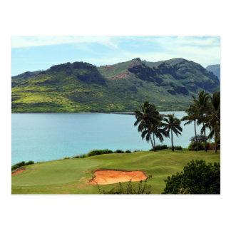 The Ocean Course at Hokuala, Kauai, Hawaii Postcard