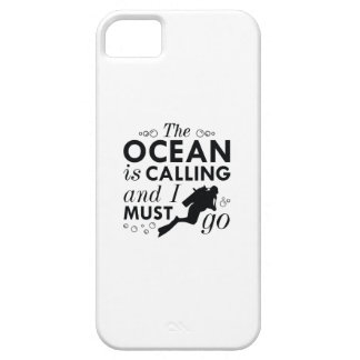 The Ocean Is Calling Barely There iPhone 5 Case