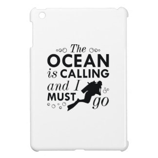 The Ocean Is Calling iPad Mini Covers