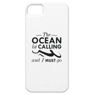 The Ocean Is Calling iPhone 5 Cases