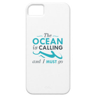 The Ocean Is Calling iPhone 5 Cover