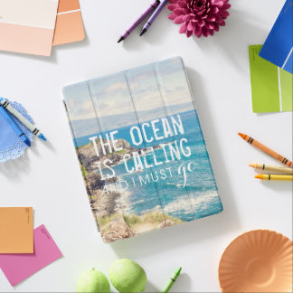 The Ocean is Calling - Maui Coast | iPad Cover