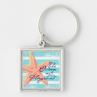 The Ocean is my Playground Key Ring