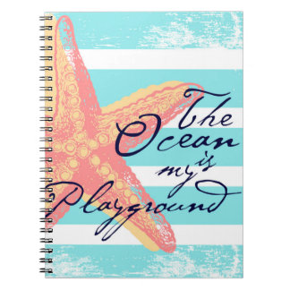 The Ocean is my Playground Notebooks