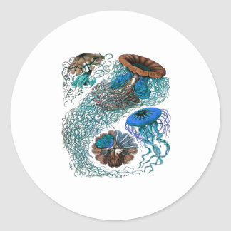 THE OCEAN PULSE CLASSIC ROUND STICKER