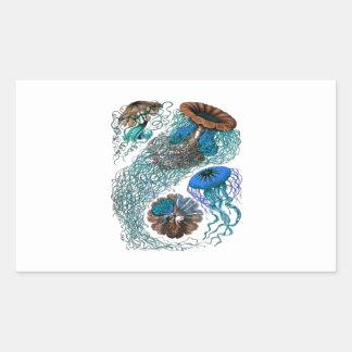 THE OCEAN PULSE RECTANGULAR STICKER